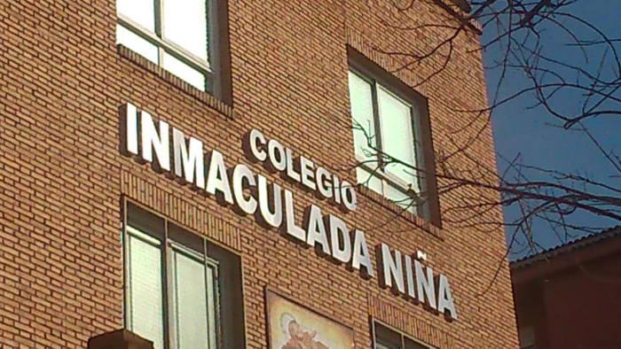 Colegio Electoral Inmaculada Granada 2015 fachada