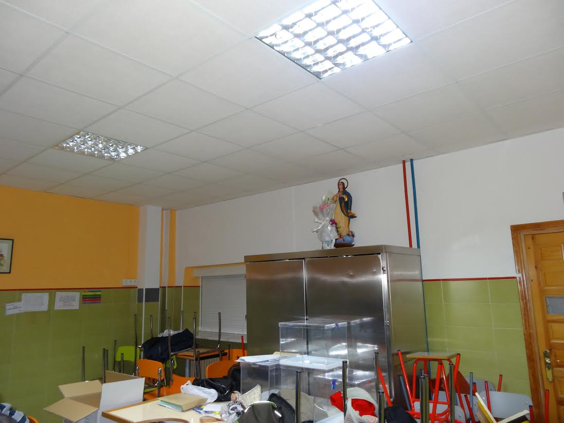 Colegio Electoral colegio Santa Teresa Granada 2015