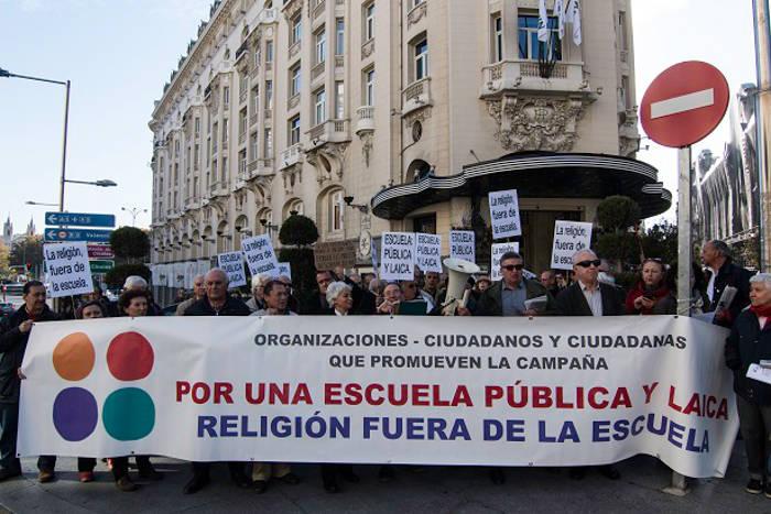 Concentracion Congreso Escuela laica 20151202 d
