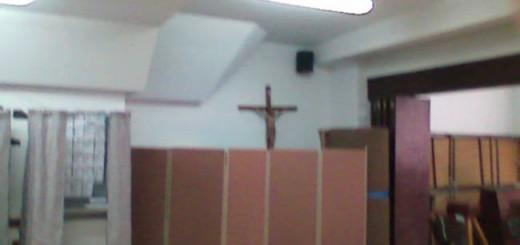 Crucifijo colegio electoral Palma