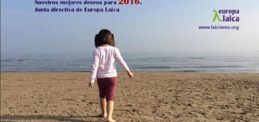 Europa laica felicita 2016