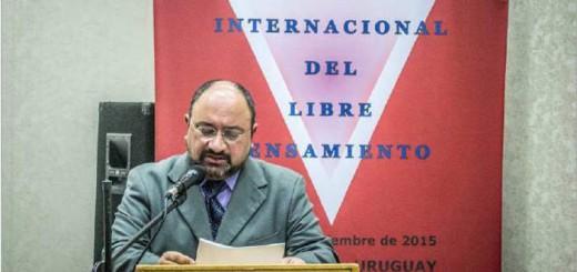 Juan Andres Bresciano V Congreso Libre pensamiento Montevideo 2015