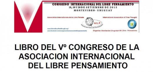 Libro V Congreso Libre pensamiento Montevideo 2015