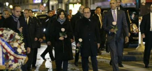 Obama y Hollande atentado Paris 2015