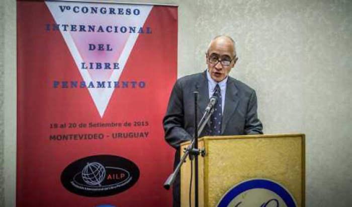 Raul Bula V Congreso Libre pensamiento Montevideo 2015
