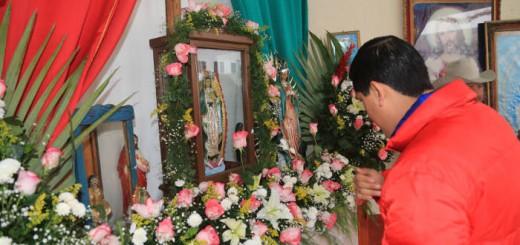 alcalde Zacatecas acto religiosos virgen Guadalupe 2015