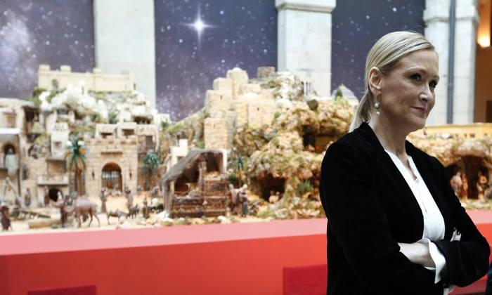 La Comunidad de Madrid ha optado por la instalación del Belén tradicional. (Sergio Barrenechea - EFE)