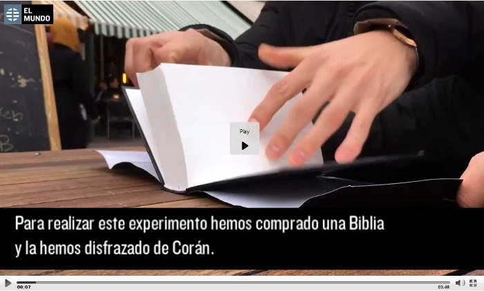 biblia o coran video El Mundo