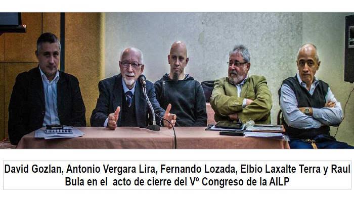clausura V Congreso Libre pensamiento Montevideo 2015