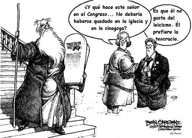 teocracia y laicismo