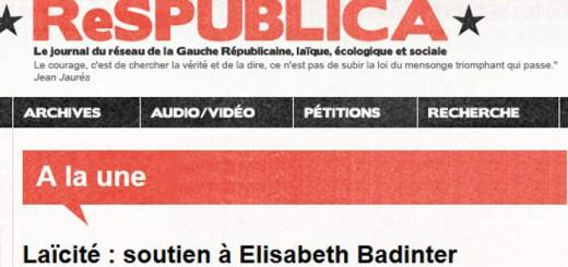 Apoyo a Badinter ResPublica
