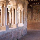 Claustro de la Colegiata de Santa María la Mayor en Alquezar