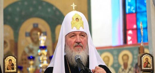 Patriarca Kirill ortodoxo Rusia