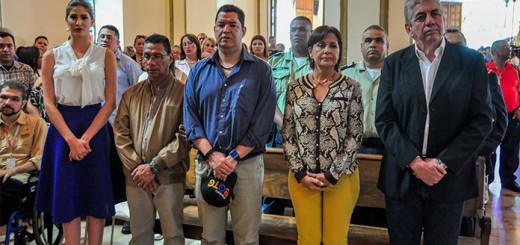 autoridades misa Divina Pastora 2016 Venezuela