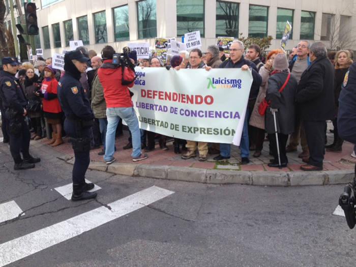 concentracion juzgado Madrid 20160119 b