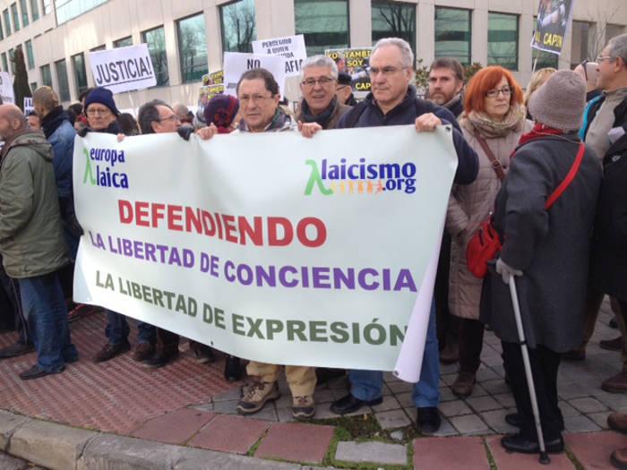 concentracion juzgado Madrid 20160119 c