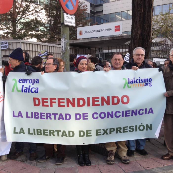concentracion juzgado Madrid 20160119 d