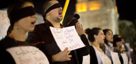 palestinos en Israel 2013 protesta
