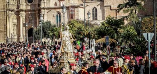 procesion san Vicente Valencia 2016