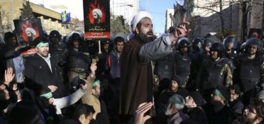 protesta en Teheran ejecucion clerigo chii en Arabia 2016