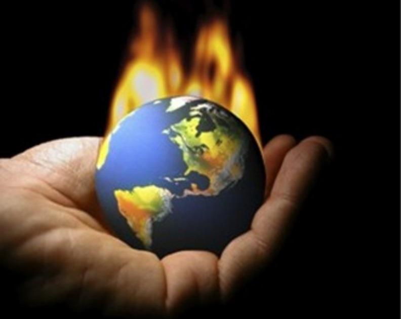 El desastre climático es por culpa del ser humano.