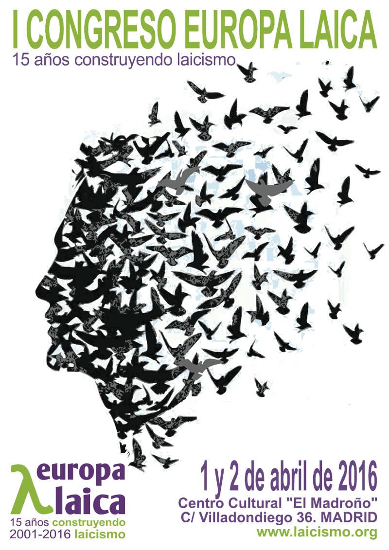 Cartel Congreso 2016 Europa Laica