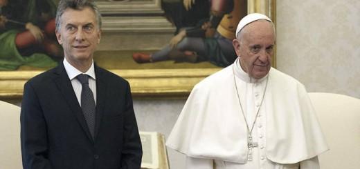 Macri y Bergoglio 2016