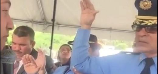 acto religioso policia Puerto Rico