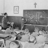 aula escuela-franquista