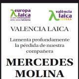 mercedes Molina Valencia Laica