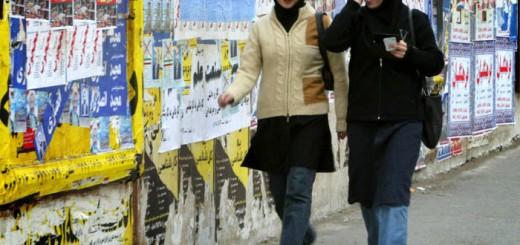 mujeres en Teheran 2016