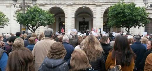 protesta-contra-Iu-laicidad Sevilla 2016