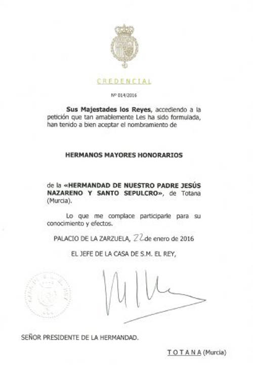 reyes hermanos cofradia Nazareno Totana Murcia 2016