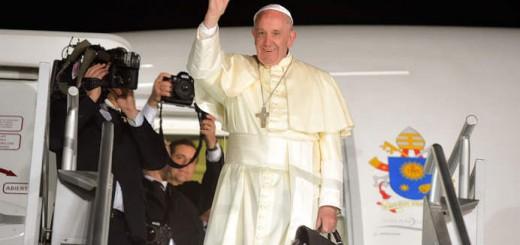 Bergoglio en Mexico 2016