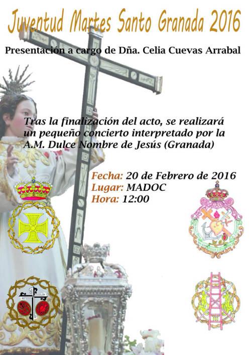 Cartel acto cofrade MADOC 2016