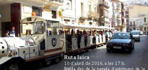 Cullera Laica ruta 2016