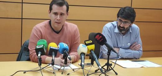 Sergio Ramos y Antonio Pagan Cambiemos Murcia y Murcia Laica  2016