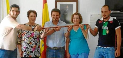 alcalde y concejales PSOE Vivares Badajoz