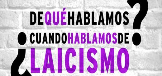 cartel charla laicismo
