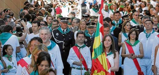 concejales Huesca actos religiosos