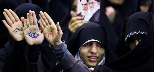 mujeres protesta Iran