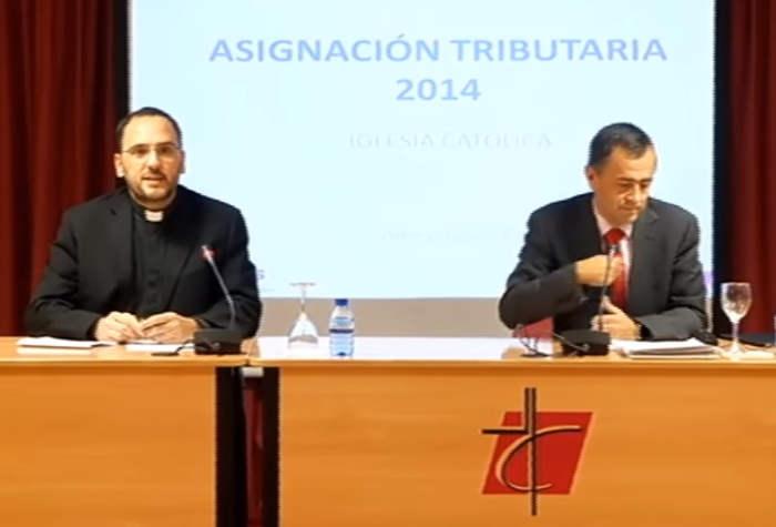 rueda de prensa obispos IRPF 2016