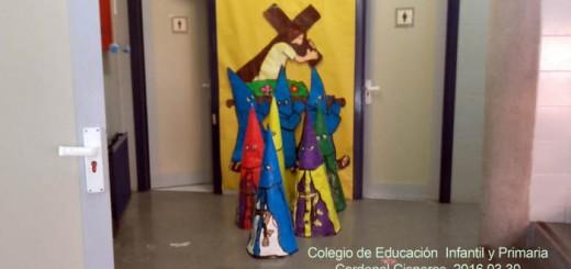 semana santa Colegio Cardenal Cisneros Alcala de Henares Madrid 2016