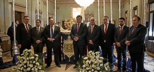 varales virgen ayuntamiento Huelva 2016