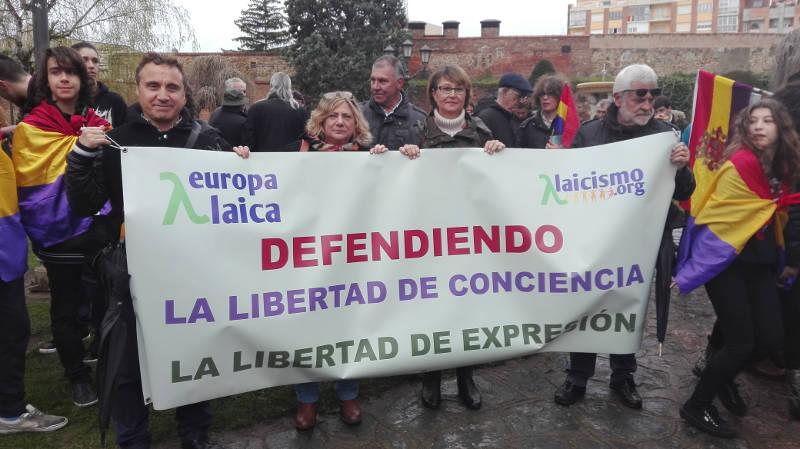 Manifestacion Leon Laico 14abril 2016 a