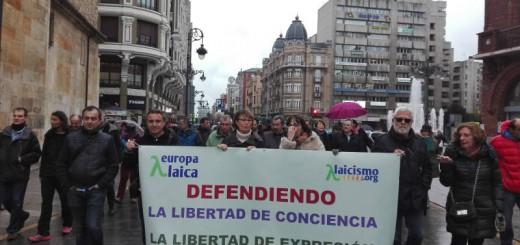 Manifestacion Leon Laico 14abril 2016 b
