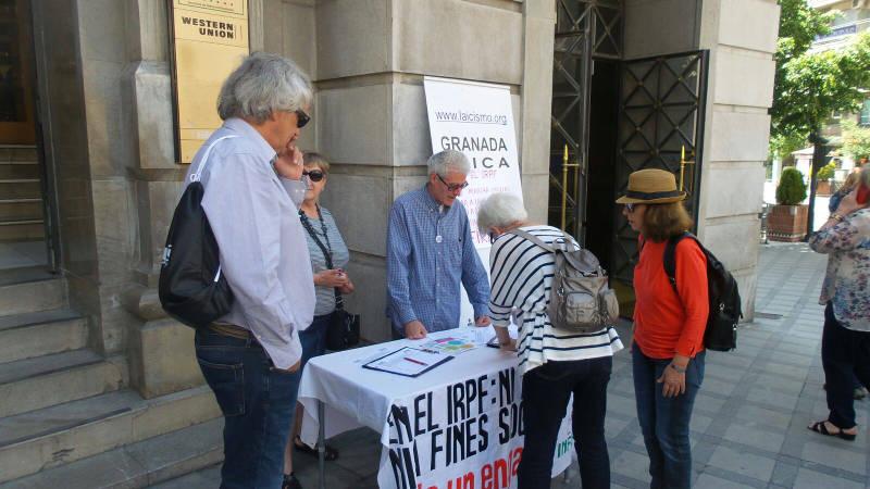 Mesa IRPF Granada 2016 mayo e