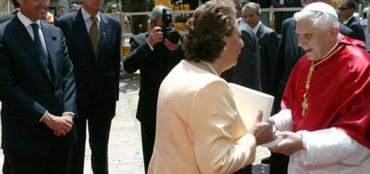 Ratzinger visita Valencia 2006 autoridades