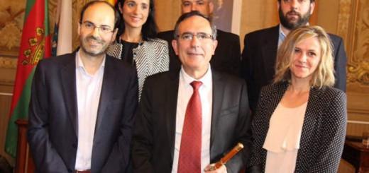 alcalde y concejales PSOE Torrelavega Cantabria 2016