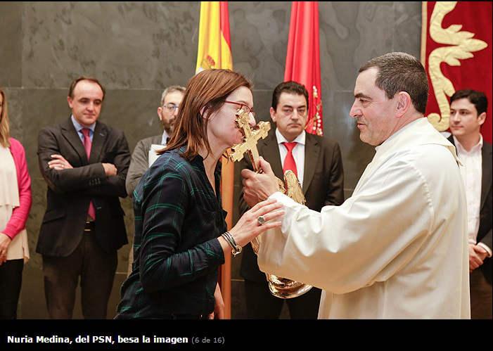 angel Aralar parlamento Navarra 2016